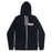 Illy merch Crown Zip Up Hoodie (Black)