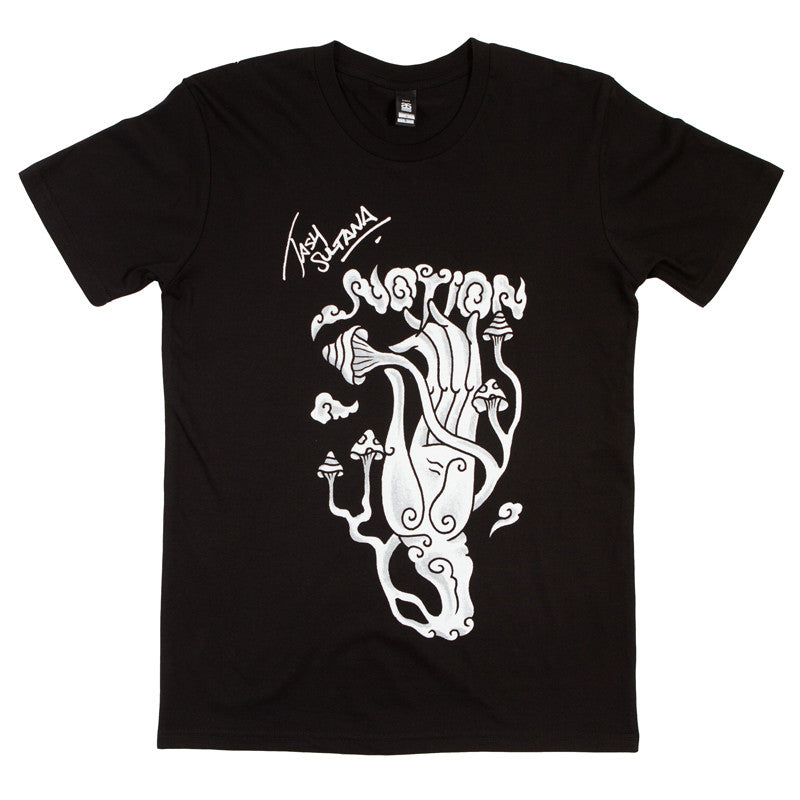 Tash Sultana Notion Tee Black 24hundred