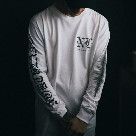 Northlane merch Celestial Sounds Longsleeve (White)