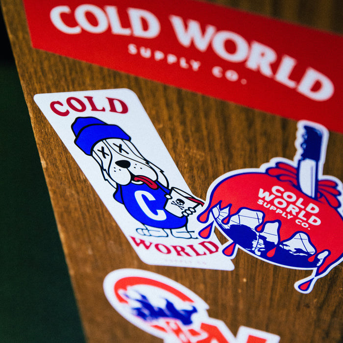 Cold World Sticker Pack