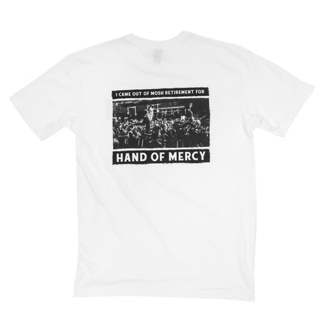 Mosh Retirement Tee (White)
