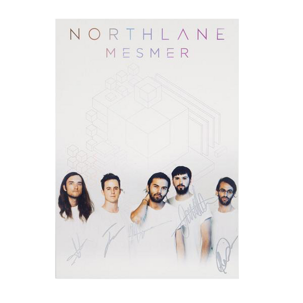 Signed Northlane Mesmer Print (A3)
