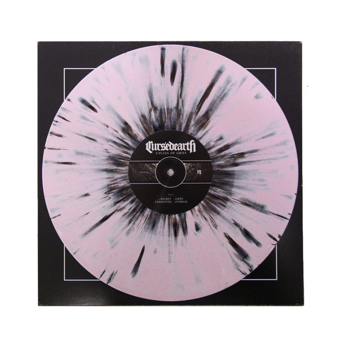 "Cycles of Grief: The Complete Collection 12"" Vinyl (Pink with Black Splatter)"
