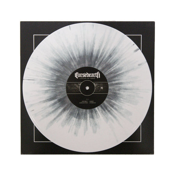 "Cycles of Grief: The Complete Collection 12"" Vinyl (White w/ Grey Splatter)"