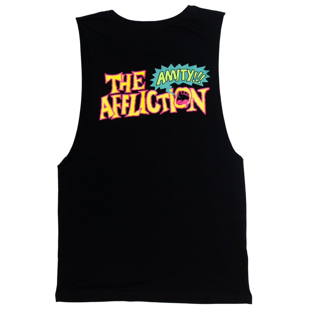 Loud Mouth Sleeveless (Black)
