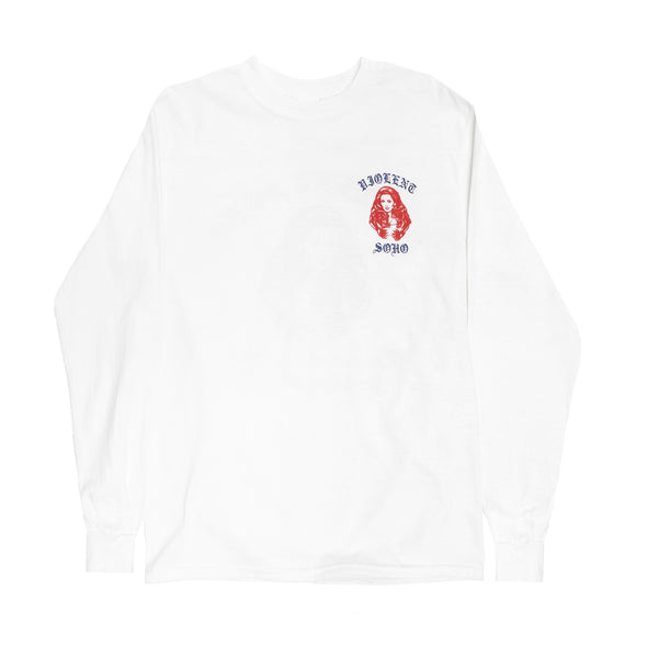 Find Some Peace Long Sleeve (White)