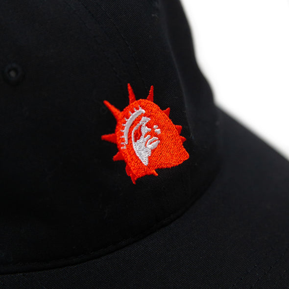 Liberty Head Embroidered Cap (Black)
