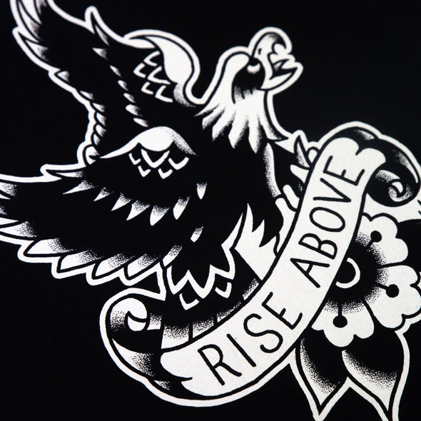 Black Flag Rise Above Tee (Black)