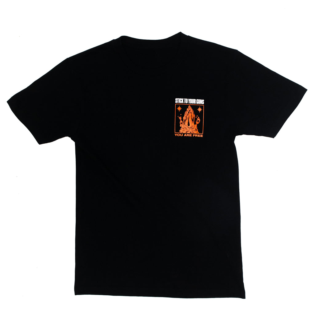 You Are Free Pocket Tee (Black)