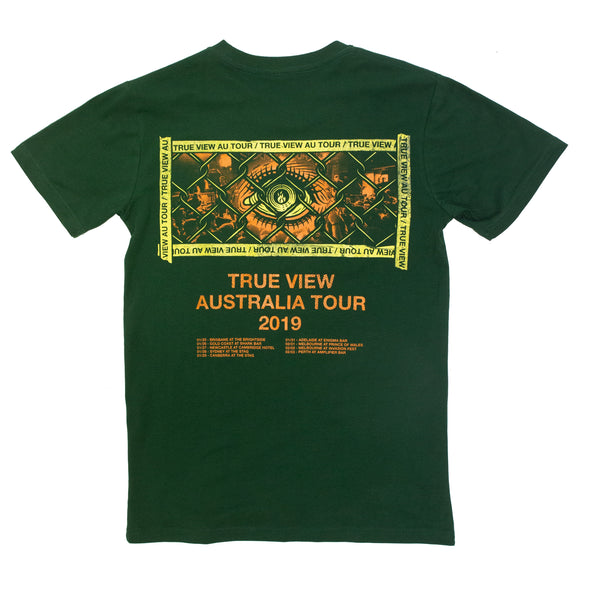 True View Australia Tour 2019 Tee (Green)