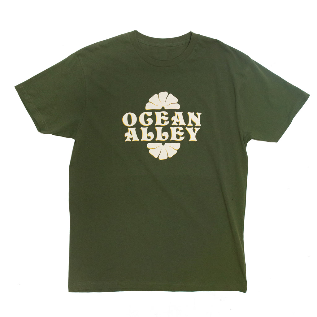 70's Logo Tee (Army Green)