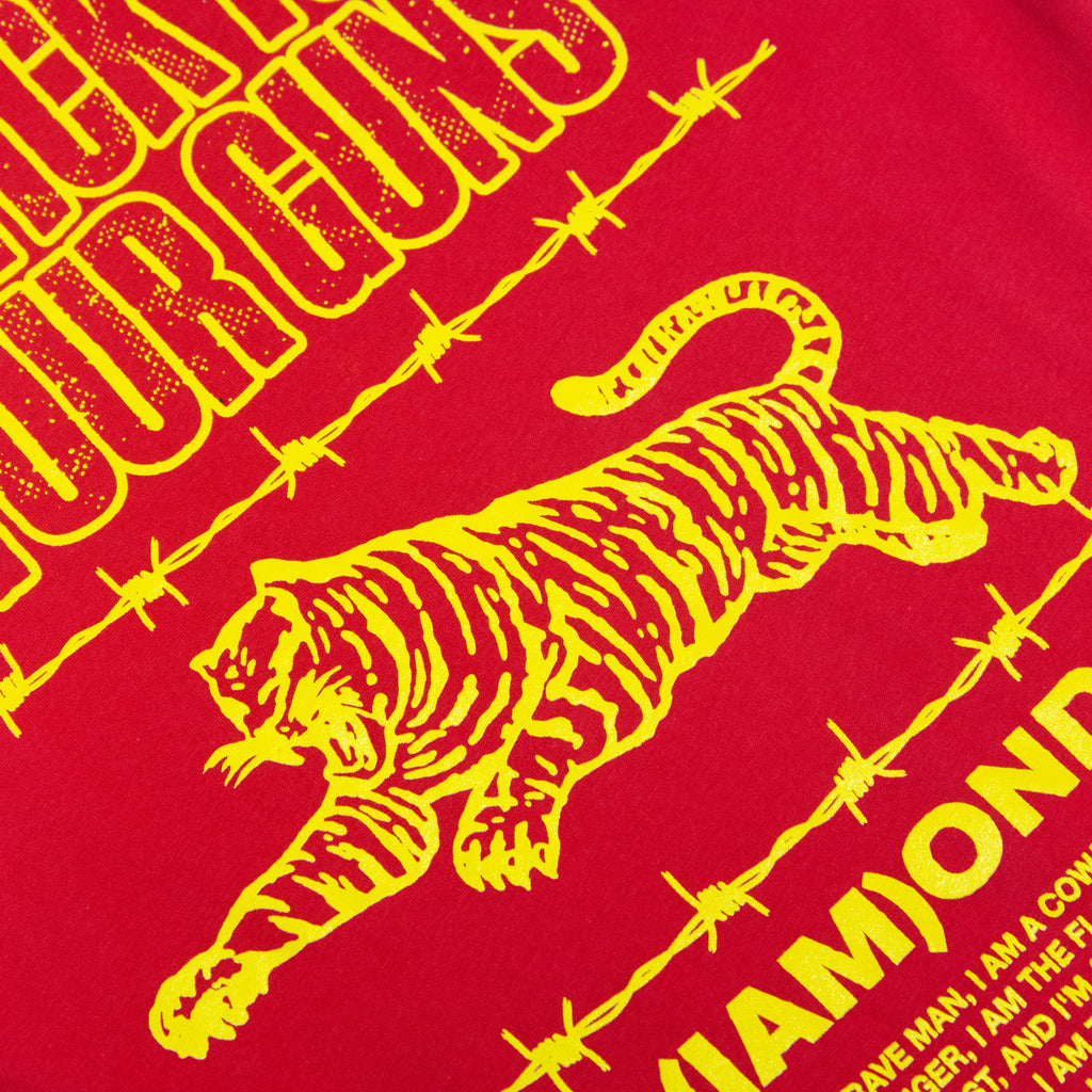 Diamond Tiger Tee (Red)