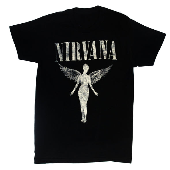 In Utero 1993 Tour Tee (Black)