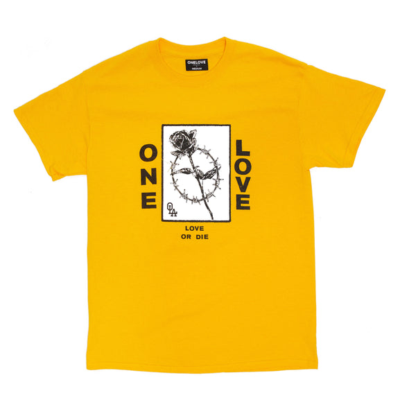 One Love Rose Tee (Gold)
