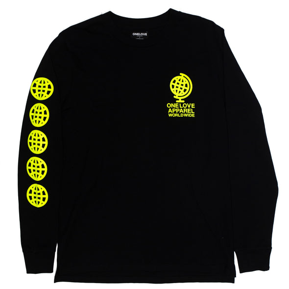 World Wide Long Sleeve (Black)