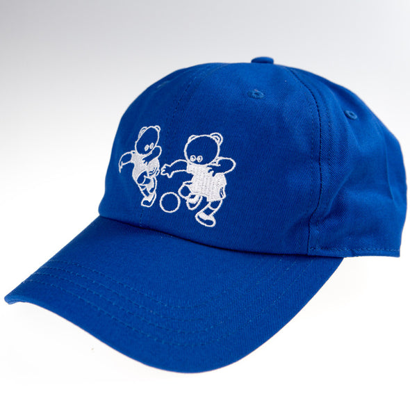 Nina Las Vegas Official Merch - Now Or Never Dad Cap (Blue)