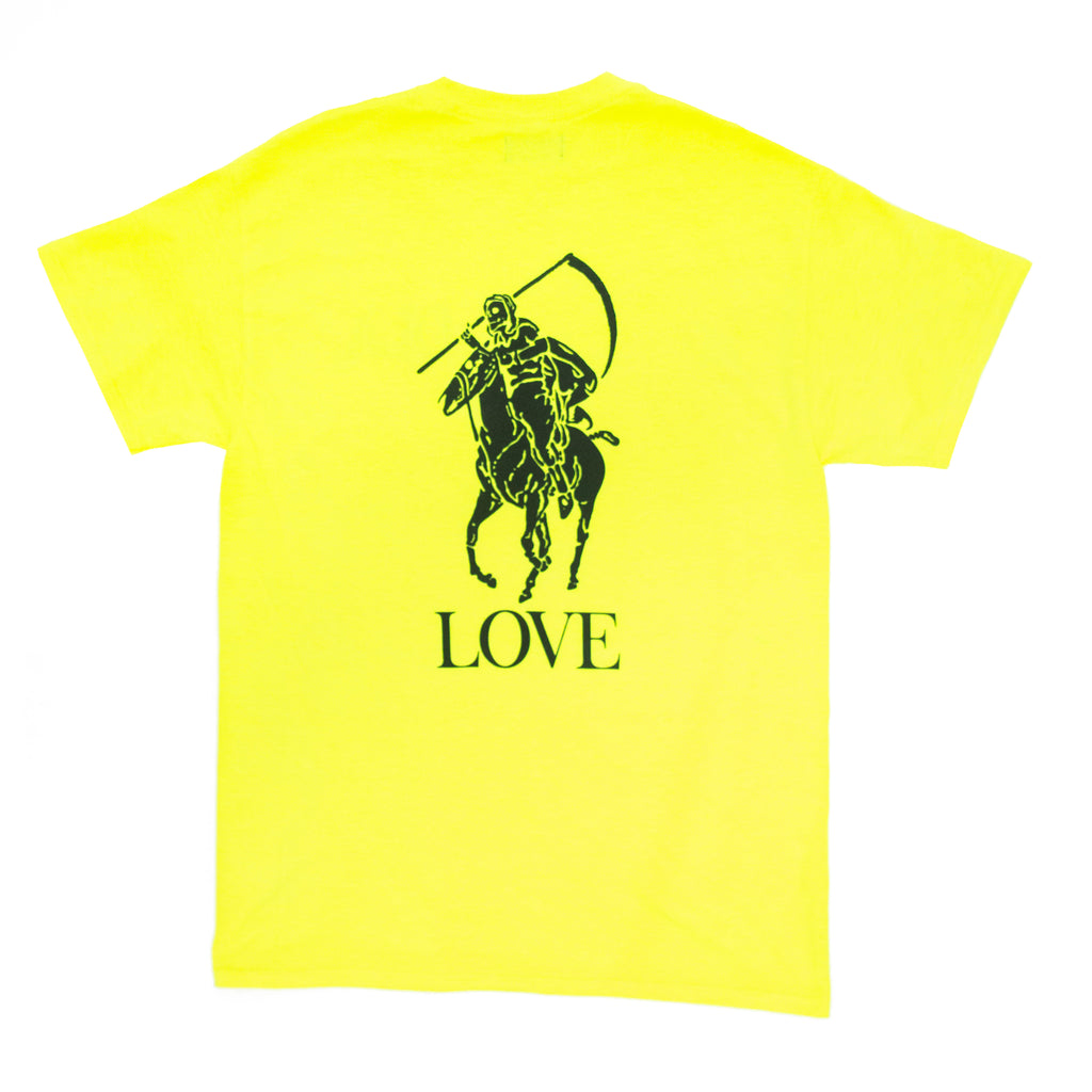 Love Reaper Tee (Safety Green)