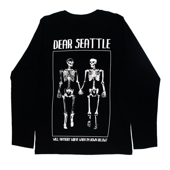 Twin Skeleton Longsleeve (Black)