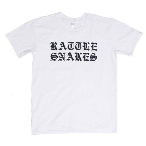 Frank Carter & The Rattlesnakes merch Old English Tee (White)