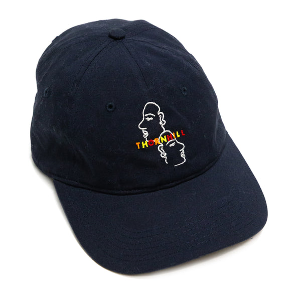 Embroidered Dad Cap (Black)