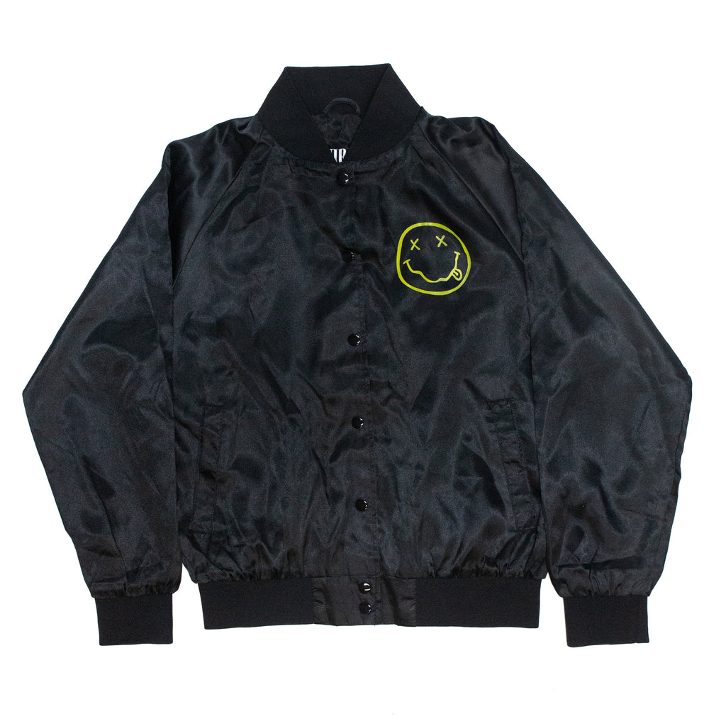 Nirvana // Jr Smiley Jacket (Satin)