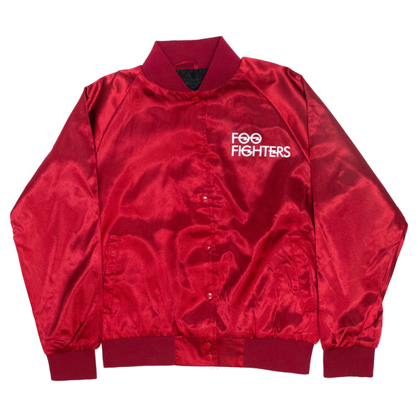 Foo Fighters // Jr Bolt Logo Jacket (Satin)