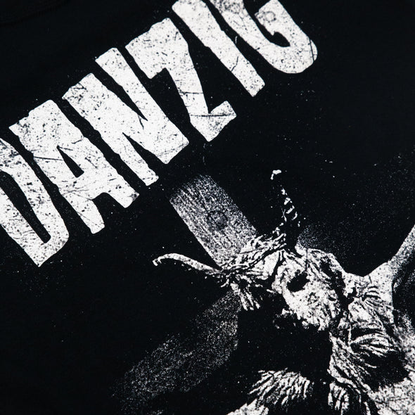 Danzig // Skullman on Cross Tee (Black)