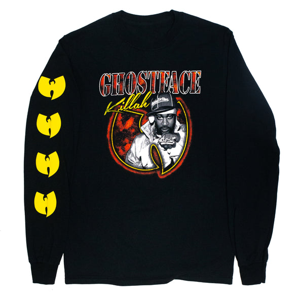 Ghostface Killah // Photo Bat Logo Long Sleeve (Black)