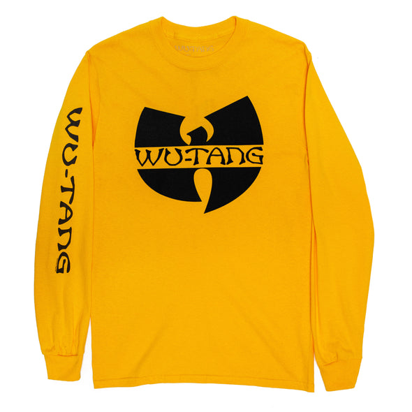 Wu-Tang Clan // Silver Logo Long Sleeve (Yellow)