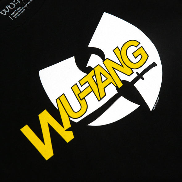Wu-Tang Clan // Logo with Sword Tee (Black)