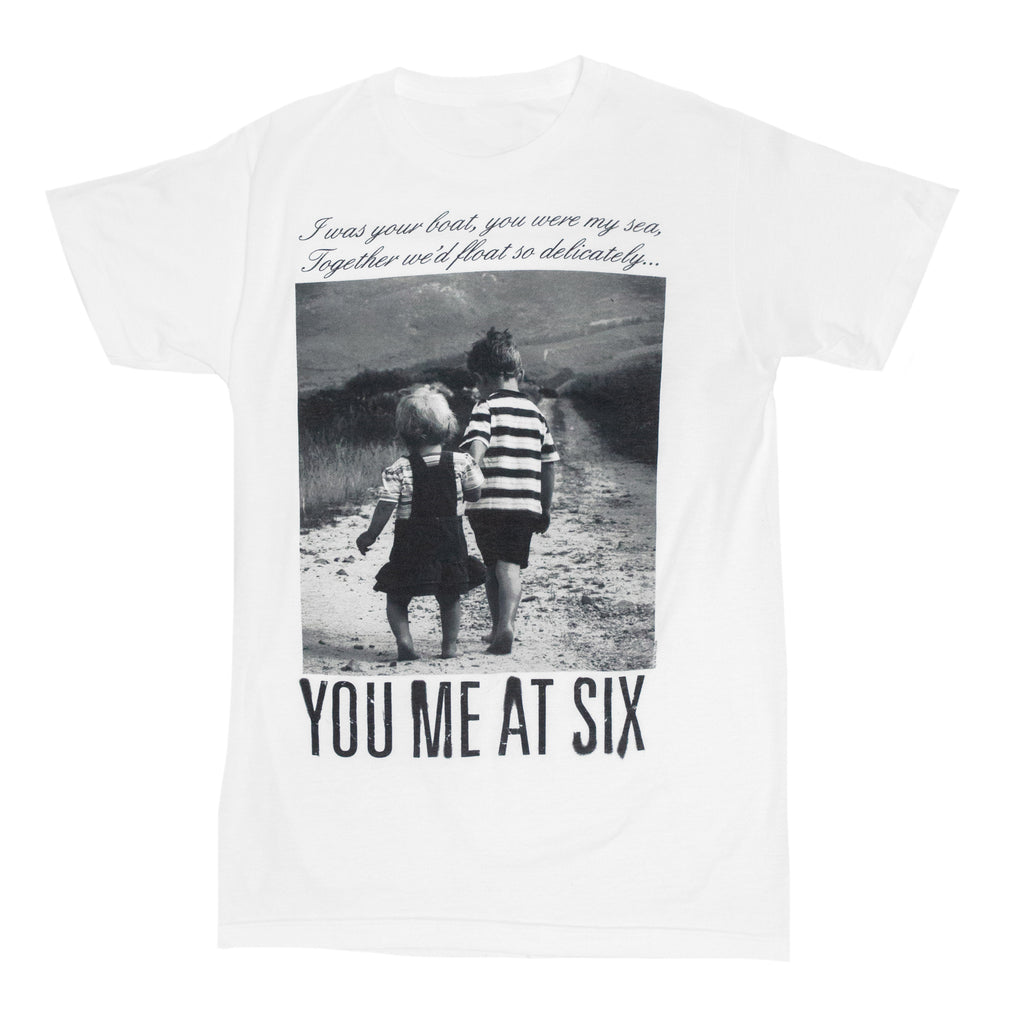 You Me At Six // Together We'll Float Tee (White)