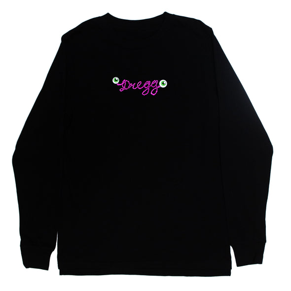 Brain Long Sleeve (Black)
