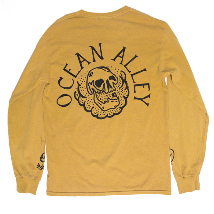 Bones Long Sleeve (Gold)