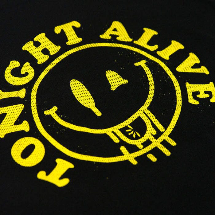 Tonight Alive // Smiley Face Longsleeve Tee (Black)