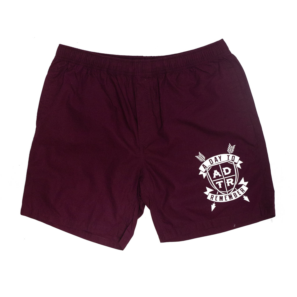 Heart Means Everything (Maroon) Boardshorts