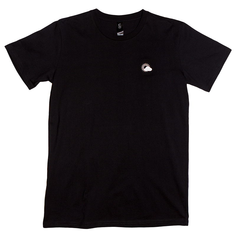 Better Weather Embroidered Tee (Black)