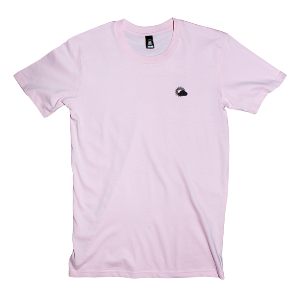 Better Weather Embroidered Tee (Pink)