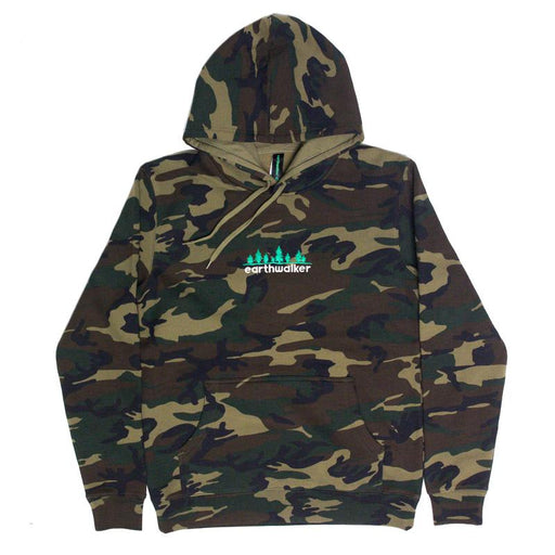 Embroidered Pullover, Camo