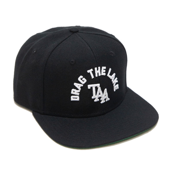 Drag The Lake Snapback (Black)