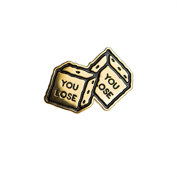 Mark Richardson Official Merch - You Lose Pin