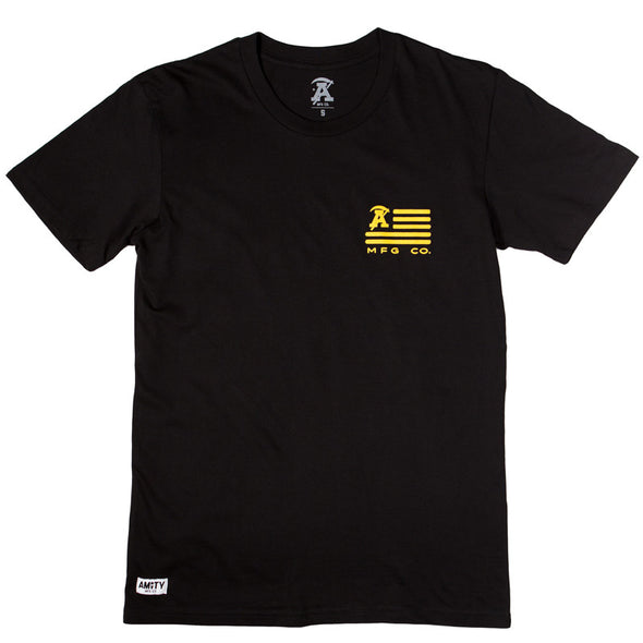 Amity MFG Official Merch - Allegiance Crest Dark T-Shirt
