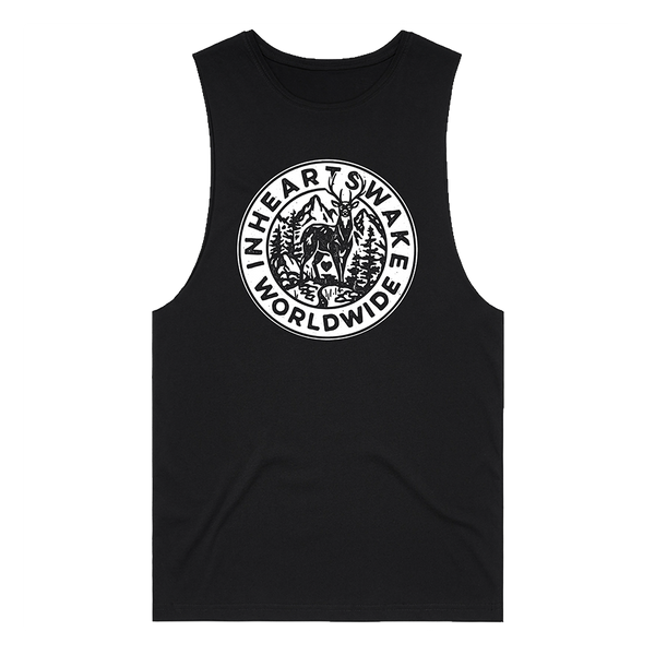 Stag Sleeveless (Black)