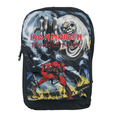 Iron Maiden - Number Of The Beast Classic Backpack