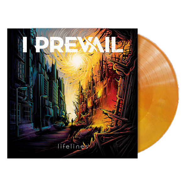 "I Prevail // Lifelines (12"" Purple/Yellow/Orange Vinyl) (7908445699)"