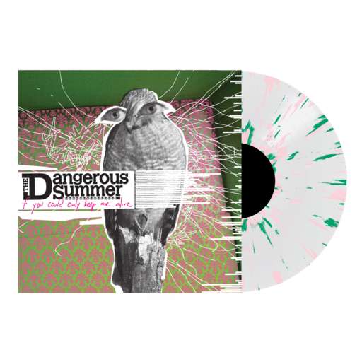 "The Dangerous Summer // If Only You Could Keep Me Alive 12"" Vinyl (Clear with Pink and Green Splatter)"