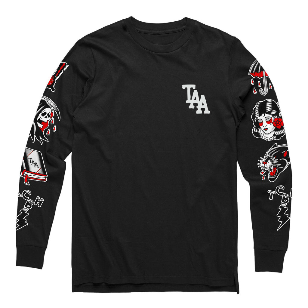 Ahren Multi Flash Longsleeve (Black)