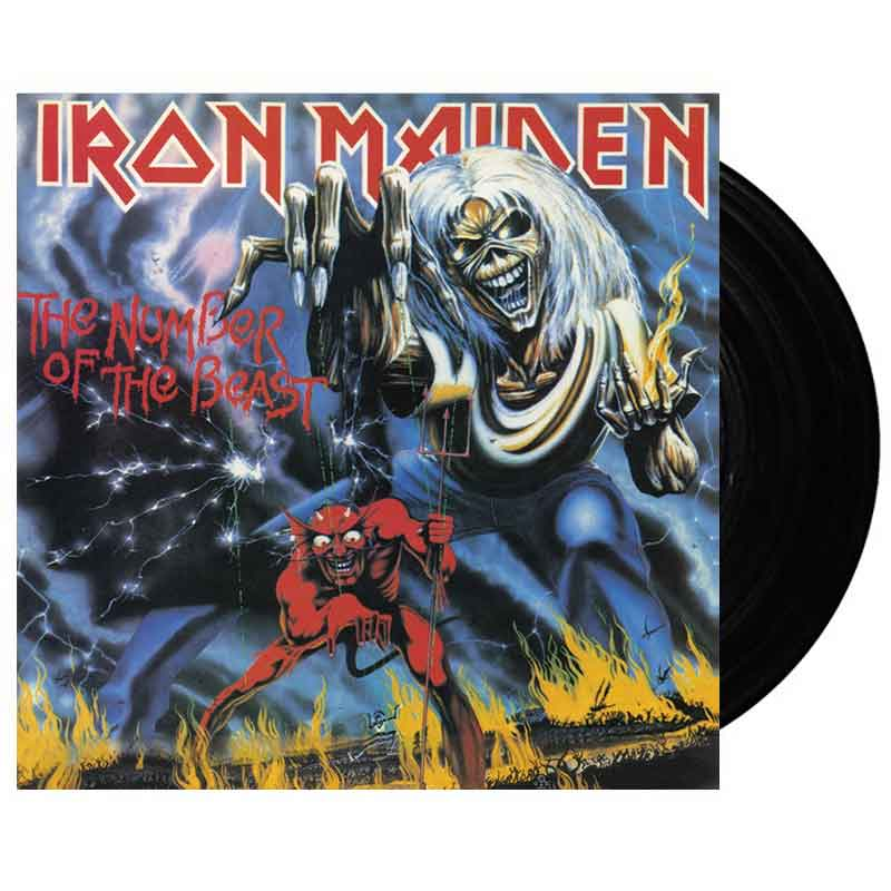iron maiden the number of the beast vinyl 24hundred