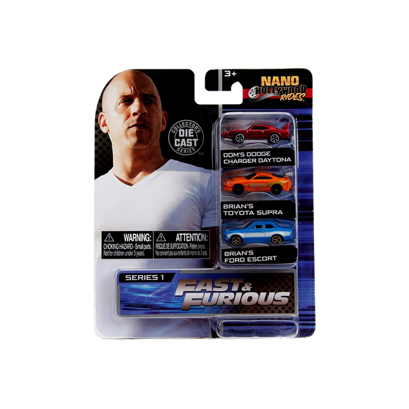 Fast & Furious - Nano Hollywood Rides Die-Cast Set
