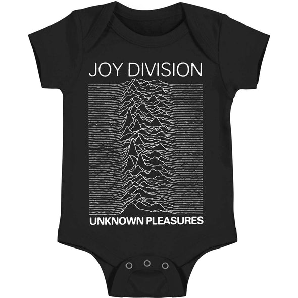 Unknown Pleasure Onesie (Black)