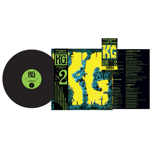 "K.G. 12"" Vinyl (Recycled Black Wax Flightless Store Edition) // PREORDER"